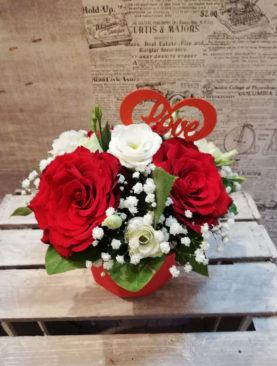 Red&White Roses