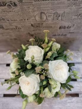 Aranjament Trandafir&Viburnum