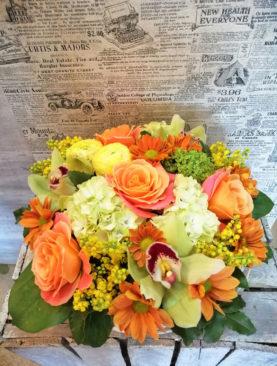 Buchet de flori - Hortensia vesela