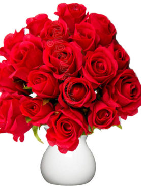 Buchet de 21 trandafiri rosii