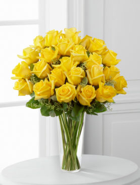 25 Trandafiri Galbeni
