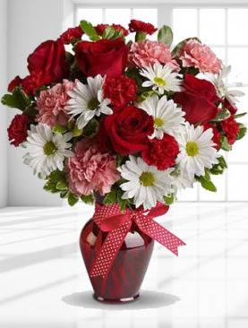 Buchet de trandafiri - Dimineata colorata