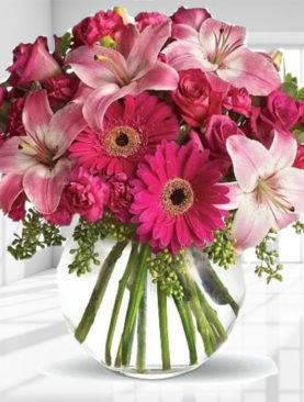 Buchet de flori cu miniroze