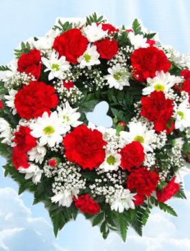 Coroana Funerara Circulara - Pace Eterna