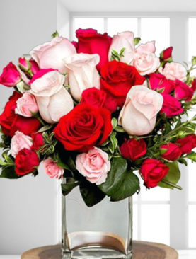 Buchet de trandafiri - Mirajul dragostei