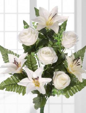 Crini & Trandafiri Ramas Bun