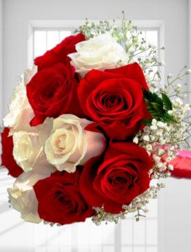 Buchet de flori - Doua culori