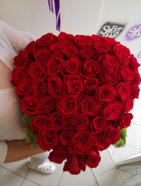 Inima din trandafirii preferati