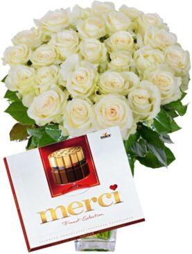 Buchet de Trandafiri - Iti Multumesc din Suflet
