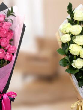2 Buchete de Trandafiri - 2 Surprize Inedite