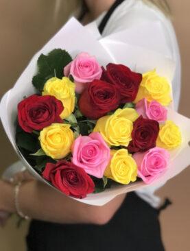 Buchet de flori - 3 Culori Frumoase
