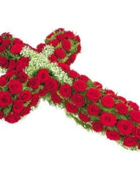 Cruce din flori - Nu te vom uita!