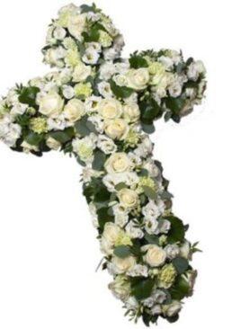 Cruce din flori - Odihna Vesnica