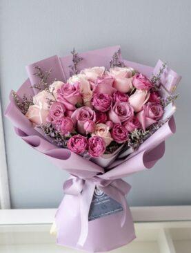 Buchet cu Trandafiri - Amelia Grande