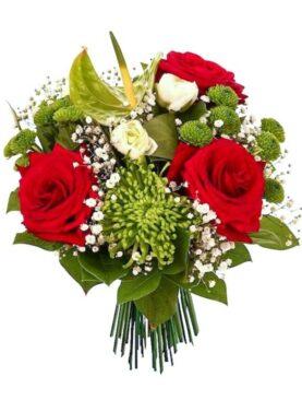 Buchet de flori cu Anthurium