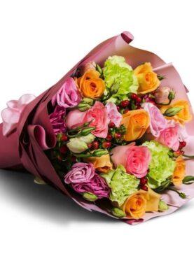 Buchet cu flori proaspete
